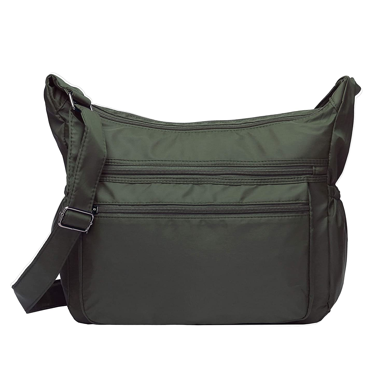 abb693aa96 Women multi pocket crossbody bag large shoulder bag lightweight jpg  1500x1500 Lightweight tote cross body bags