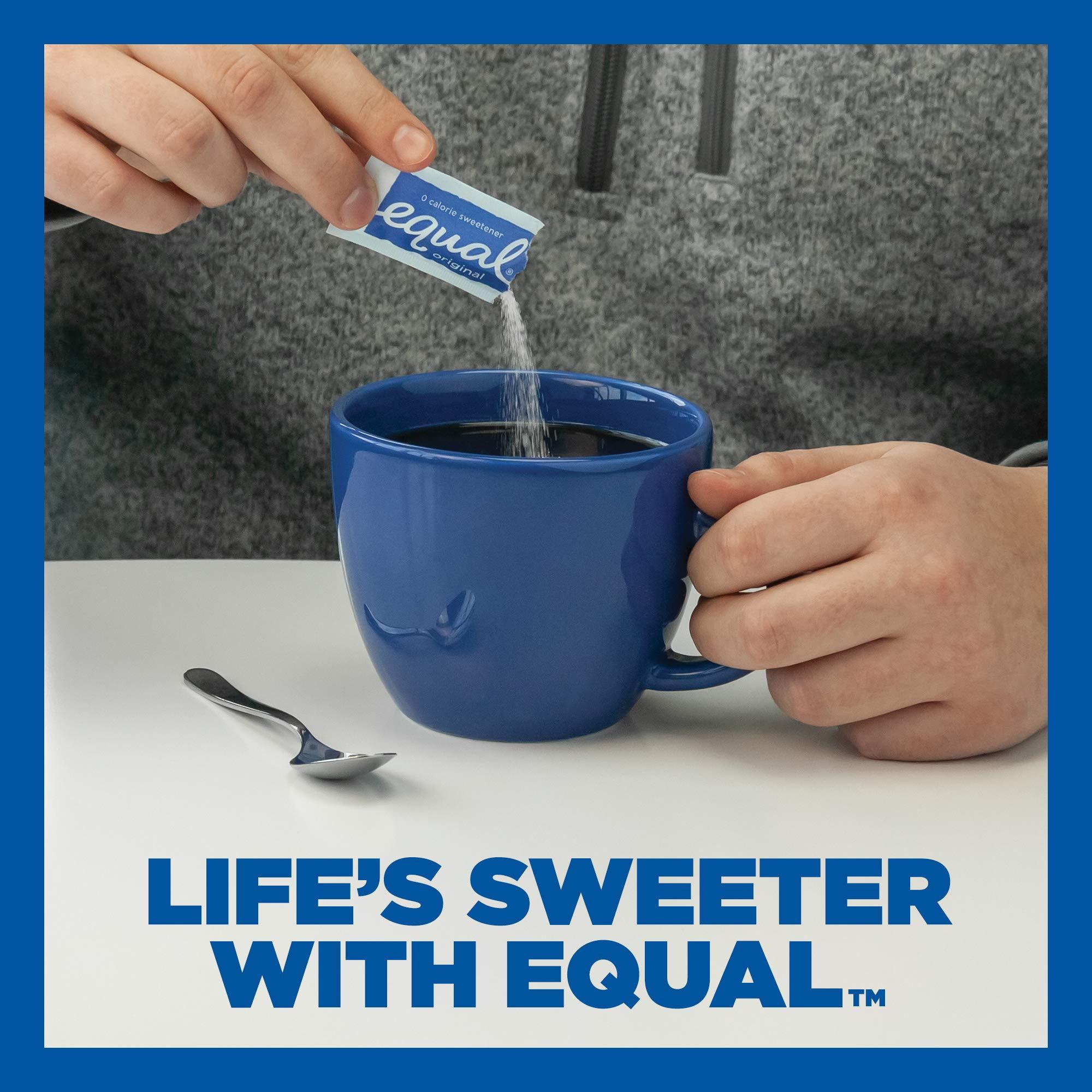 EQUAL 0 Calorie Sweetener, Sugar Substitute, Zero Calorie Sugar Alternative Sweetener Packets, Sugar Alternative, 50 Count (Pack of 12) by Equal (Image #5)