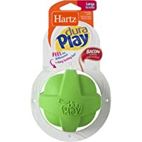 Hartz Dura Play Bacon Scented Dog Toy (Large Ball)