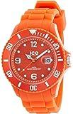 ICE-Watch - Montre Mixte - Quartz Analogique - Ice-Shadow - Tangerine - Big - Cadran Orange - Bracelet Silicone Orange - SW.TAN.B.S.12