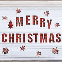 23 Pieces Christmas Garage Door Decoration Magnets Refrigerator Magnets Merry Christmas Magnets Car Magnets Baffulo…