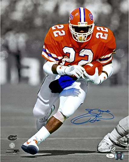 efa62ad2c50 Emmitt Smith Florida Gators Autographed 16'' x 20'' Spotlight Photograph -  Fanatics Authentic Certified at Amazon's Sports Collectibles Store