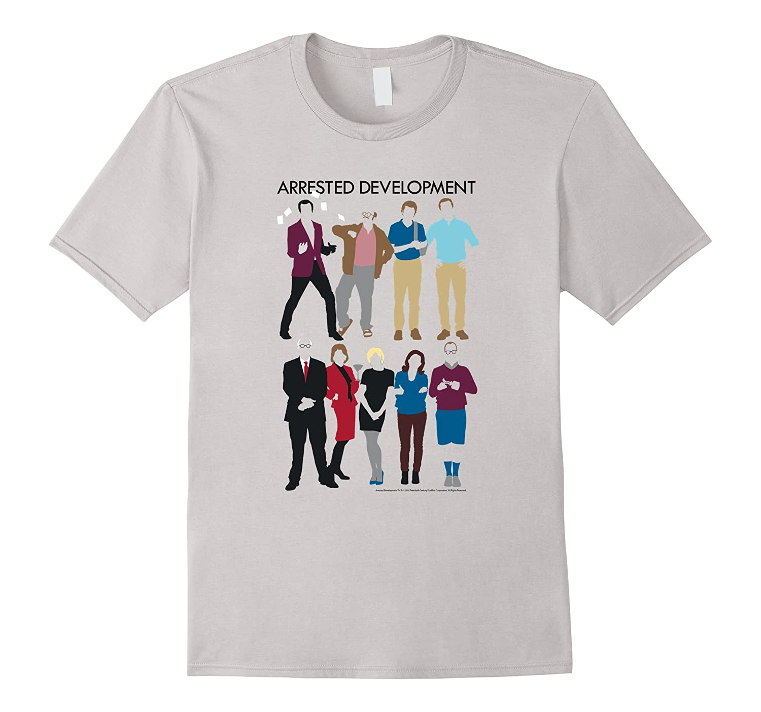 Arrested Development Family Sillhouettes-Vaci