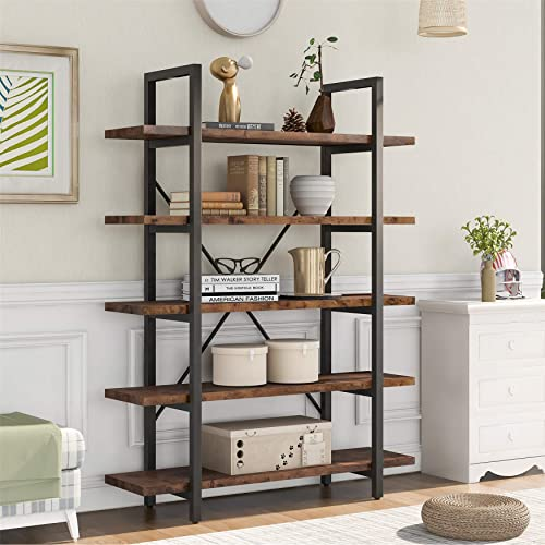 Deal of the week: 63'' Tall Bookcases and Book Shelves 5 Shelf