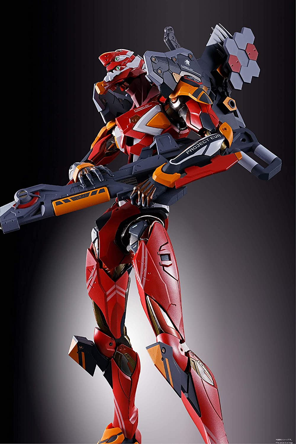 BANDAI METAL BUILD Evangelion EVA-02 TEST TYPE Bandai spirits Figure statue