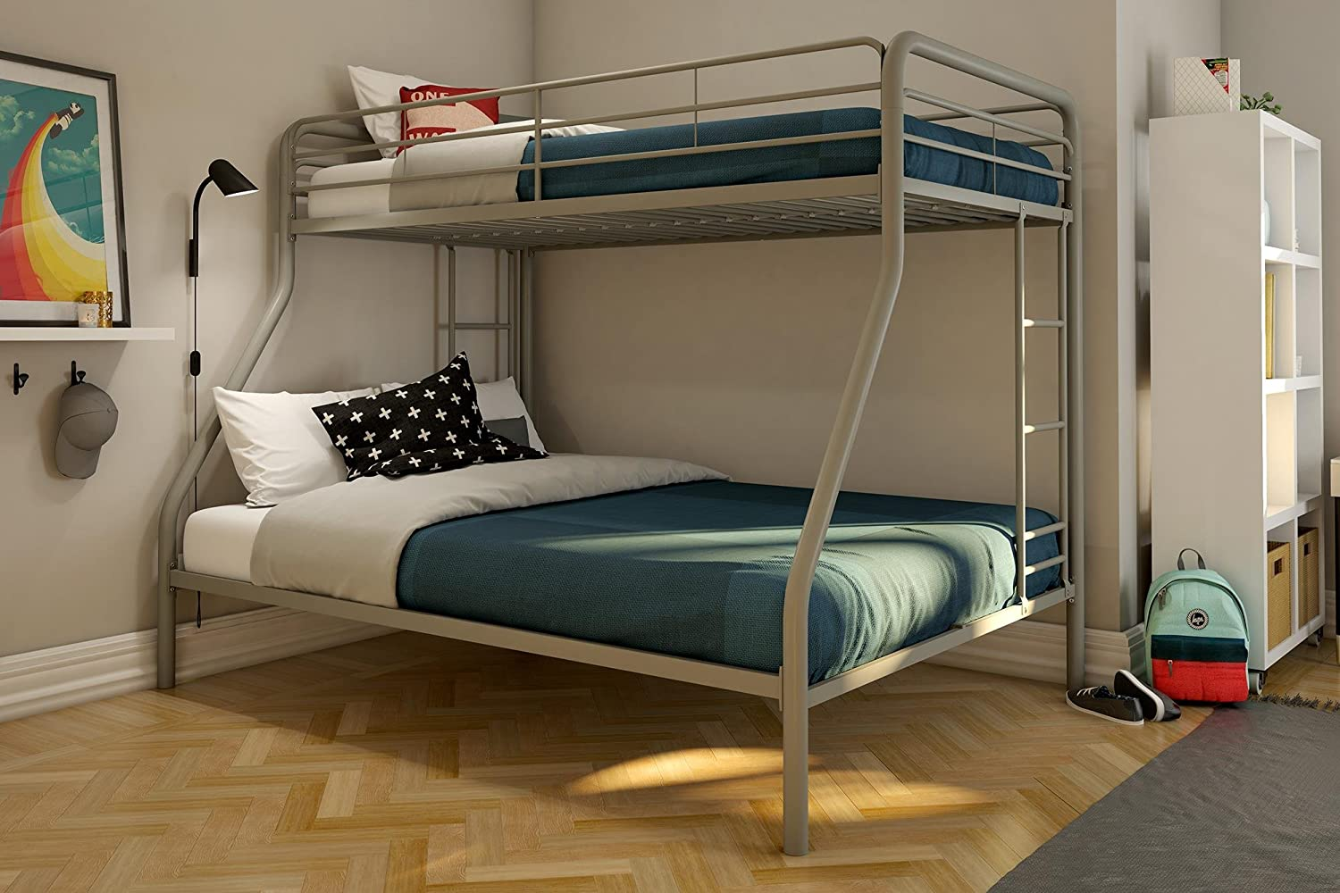 Full Over Full Bunk Beds With Mattresses Included Cheaper Than Retail Price Buy Clothing Accessories And Lifestyle Products For Women Men