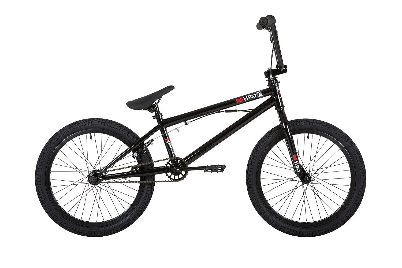 Haro Kids' Frontside 18 DLX BMX Bike, Black, Inch HA1806