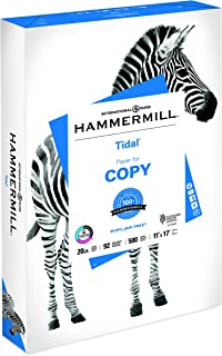 product image for Hammermill Printer Paper, 20 lb Tidal Copy Paper, 11 x 17-1 Ream (500 Sheets) - 92 Bright, Made in the USA