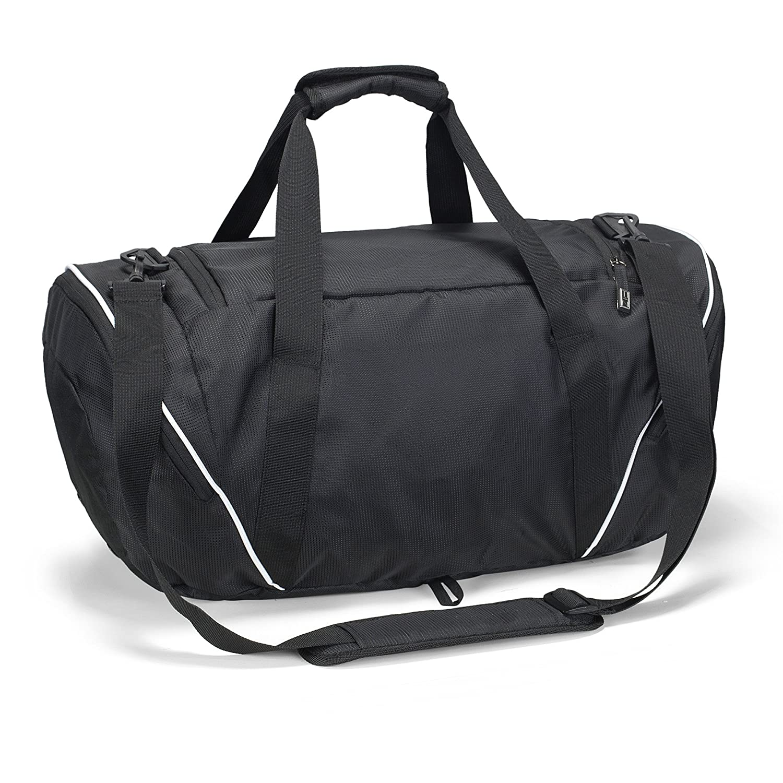 Runetz - BLACK Gym Bag Athletic Sport Shoulder Bag for Men   Women Duffel  20-inch Large - Black  Amazon.ca  Luggage   Bags 2e17e317cc