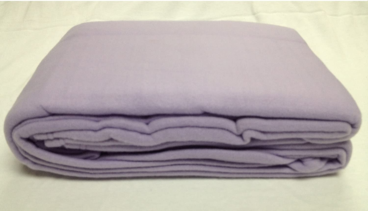 Polar Fleece Massage Table Blanket, Lilac (Lavender) Clinical Health Services Inc