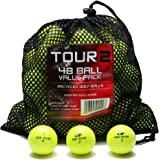 Various Brands Recycled B Grade Golf Balls in Mesh Bag (48 Pack)