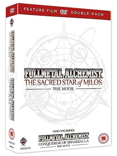Fullmetal Alchemist Movie s 1 & 2 Double Pack The Sacred Star Of Milos/Conqueror of Shamballa DVD Reino Unido: Amazon.es: Rie Kugimiya, Romi Park, Toshiyuki Morikawa, Seiji Mizushima, Kazuya Murata, Rie Kugimiya,