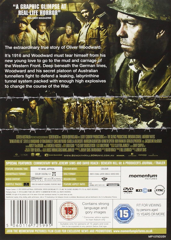 Beneath Hill 60 Dvd Reino Unido Amazon Es