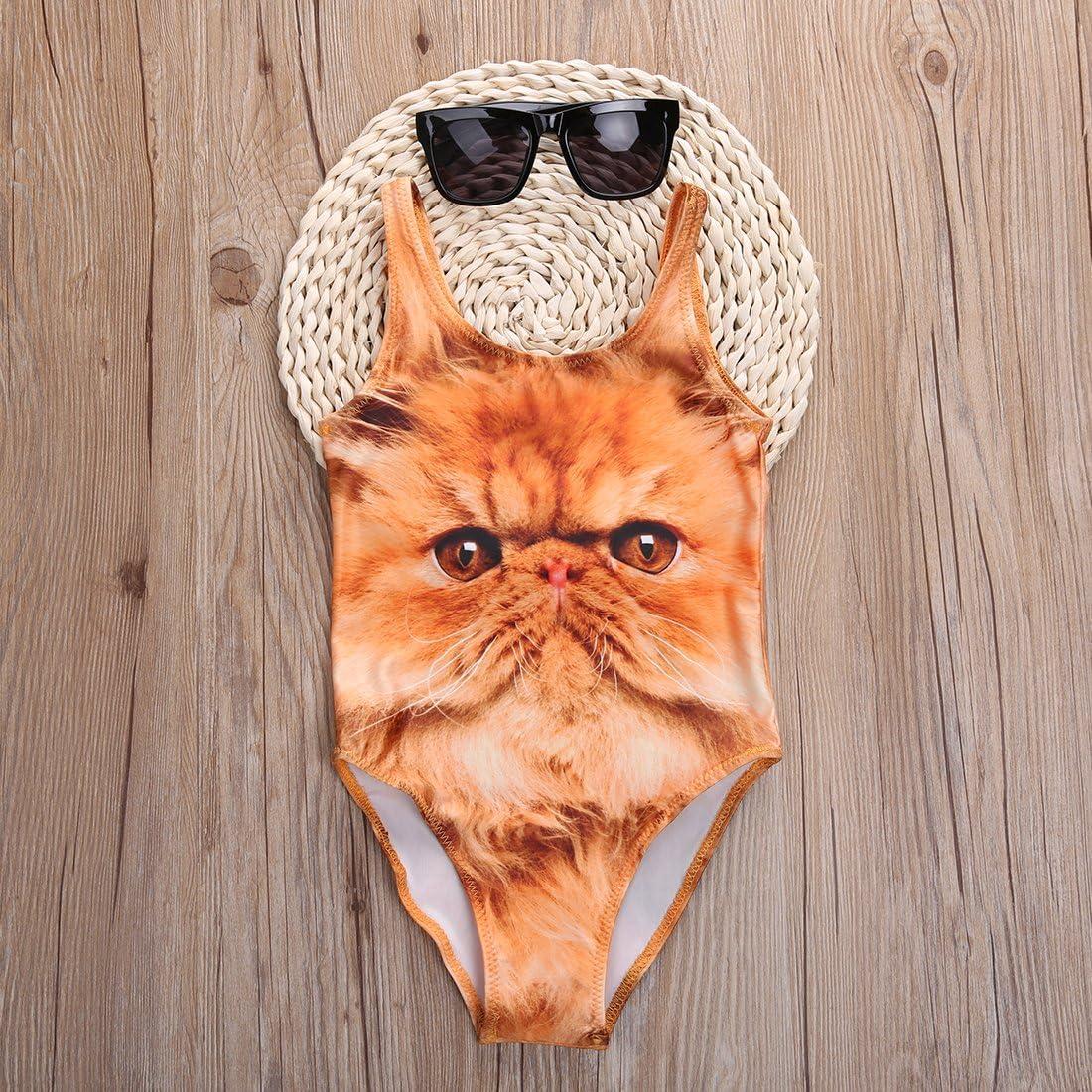 Baby Girls One-Pieces Animal Swimsuit Swimwear