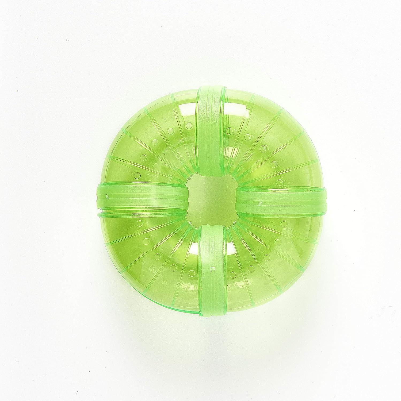 Pet Ting Tubi per criceti Rosa 0,2 kg Verde Tunnel angolare Extra Blu