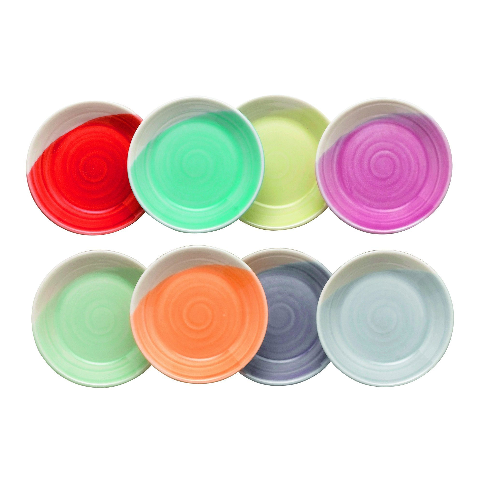 Royal Doulton 1815 Tapas Dip Tray, 3.5-Inch, Set of 8