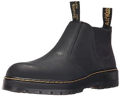 cd639f2146d Dr. Martens Men's Rivet Steel Toe Chelsea Boot