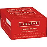 LARABAR, Fruit & Nut Bar, Cashew Cookie, Gluten Free, Vegan, 1.7 oz Bars (16 Count)