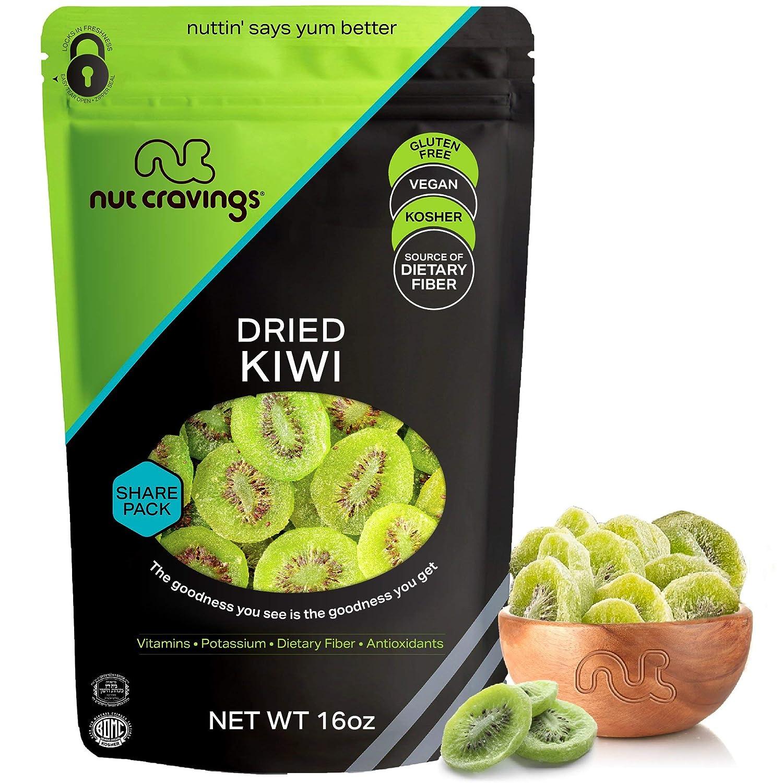 Candied Kiwi Slices Dried Kiwi dehydrated Kiwi 10 Slices Bag tea dried fruit Sugar free fruit mixology cocktail garnish food grade