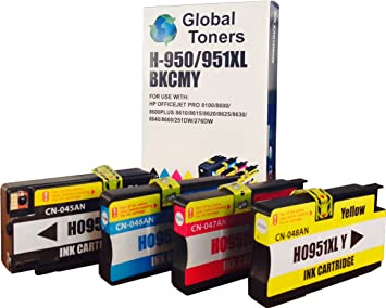 Inkjet UK - Juego de cartuchos de tinta HP950XL y HP951XL ...