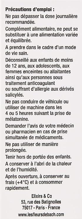 Elixirs & Co somniflor Melatonina en los flores de Bach 150 ml ...