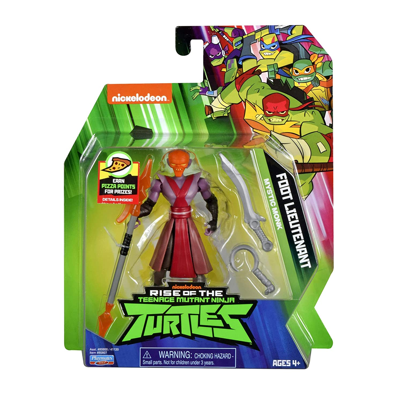 Rise of the Teenage Mutant Ninja Turtles Foot Lieutenant Action Figure Playmates Toys 80807