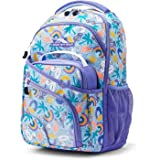 High Sierra Wiggie Lunch Kit Backpack, Pool Party/Lavender/White, One Size