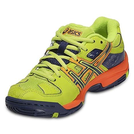 Chaussures Junior Asics Gel Blast 5 jaune fluo/orange: Amazon.es ...