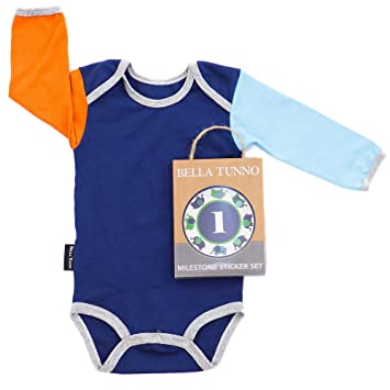 BELLA TUNNO Baby One Piece Snap Suit  6-12 Month