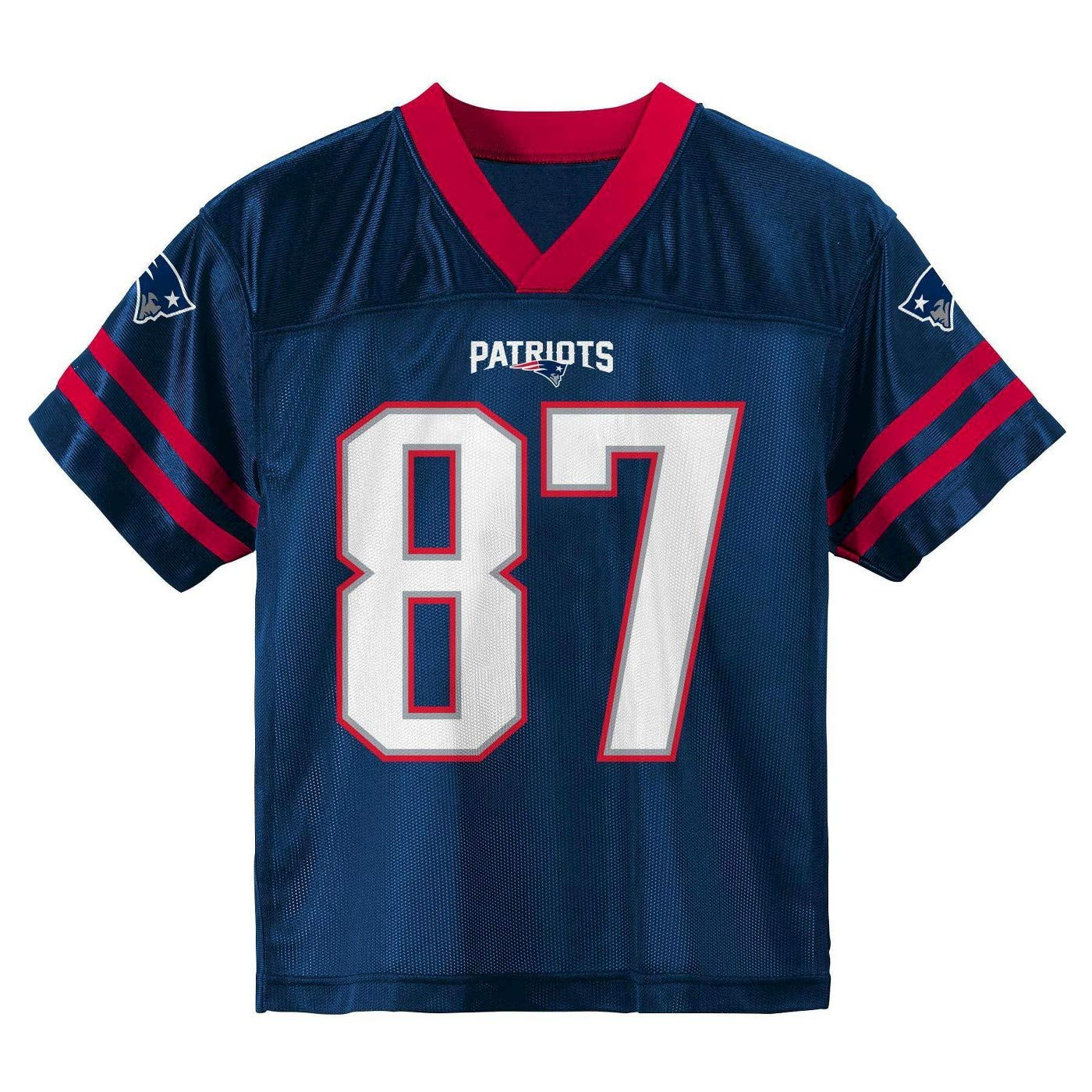 3d15c6571a2 ... nike red alternate game jersey 04983 cb2e5; get amazon outerstuff rob  gronkowski new england patriots 87 navy blue youth home player jersey sports