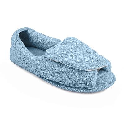 MUK-LUK Women's Micro Chenille Adjustable Slipper | Slippers