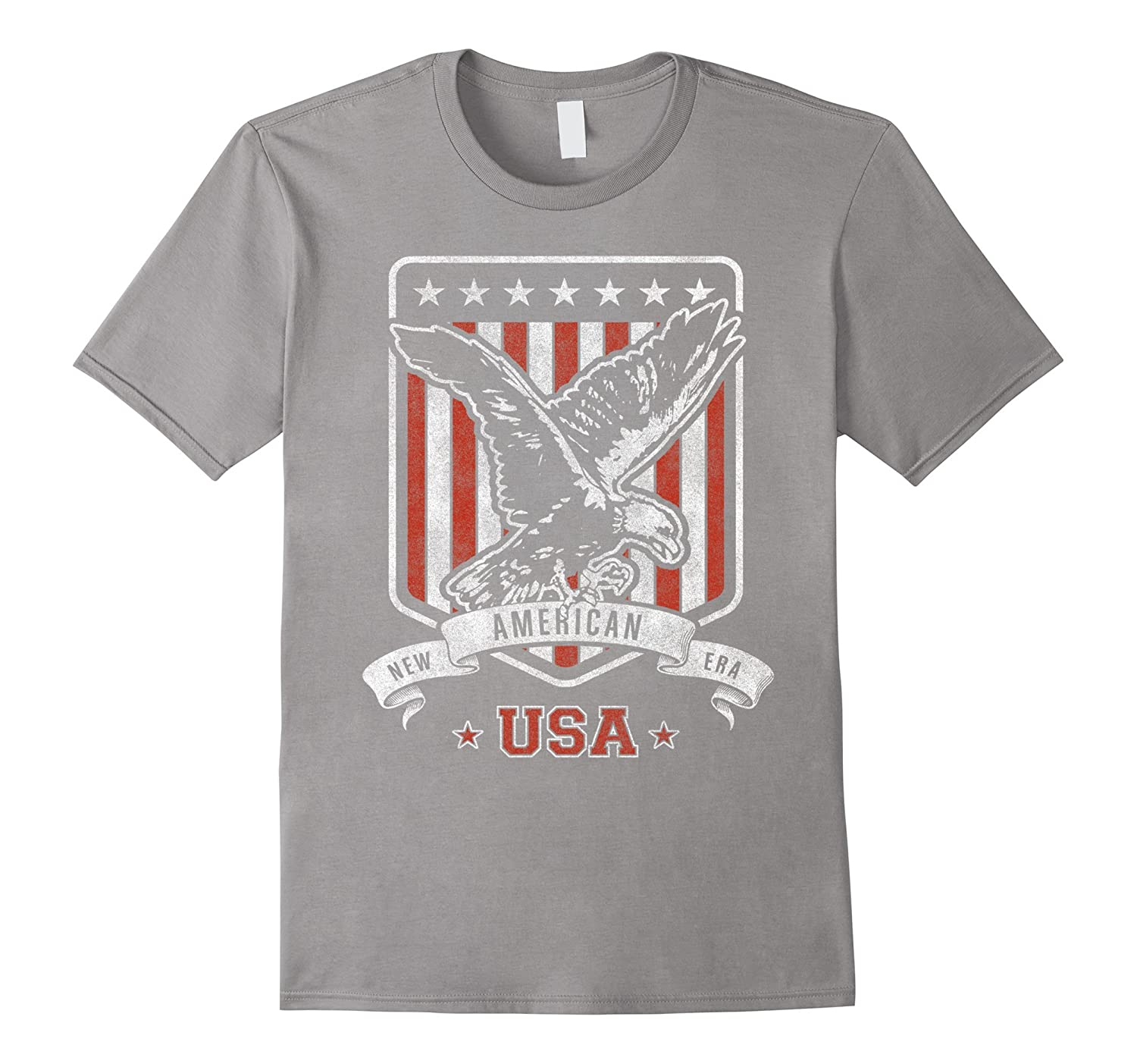 04df88fe4 Veterans Day American Bald Eagle USA T-Shirt-ANZ - Anztshirt