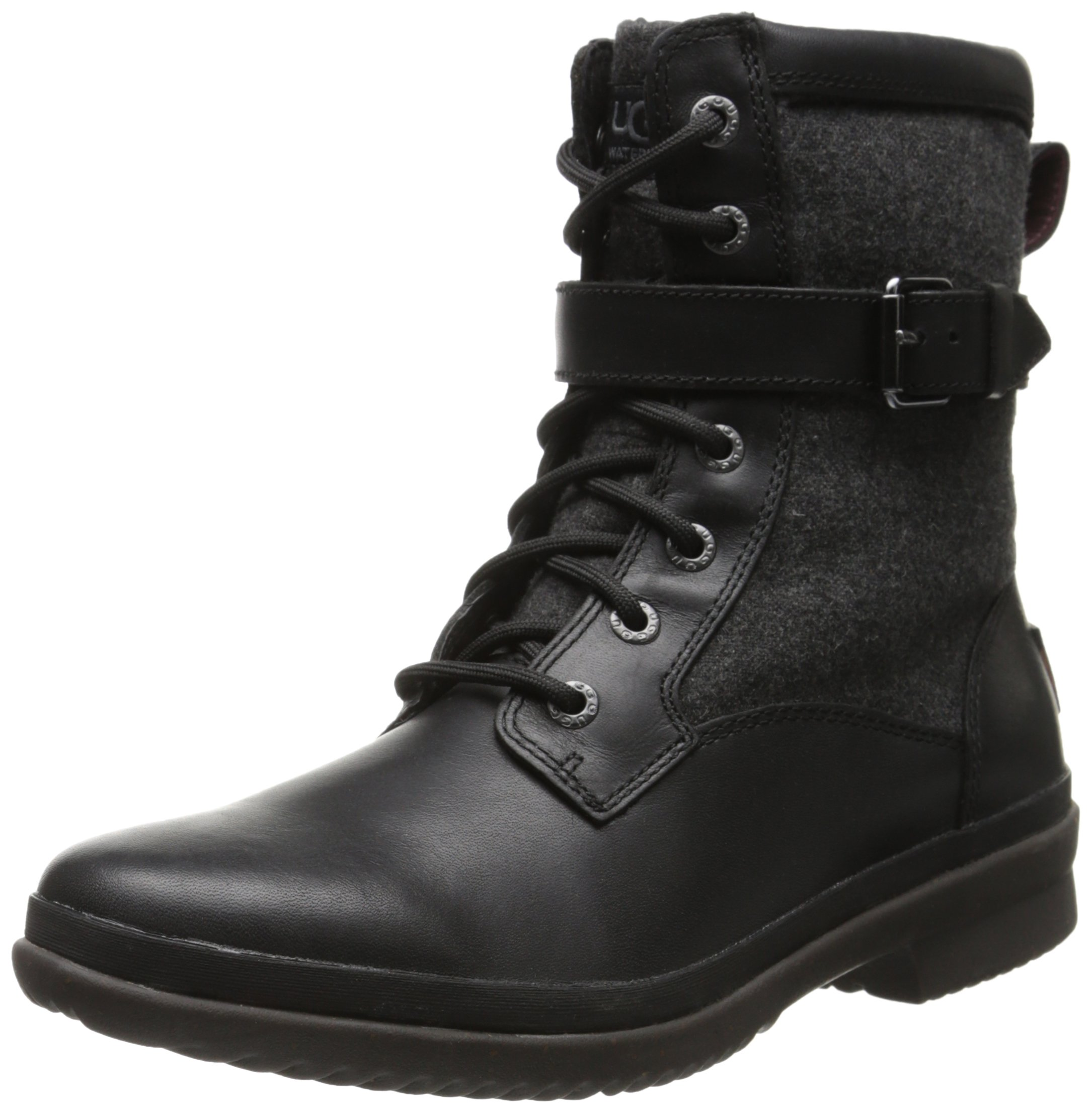UGG Women's Kesey Boot, Black, 8.5 B US by UGG