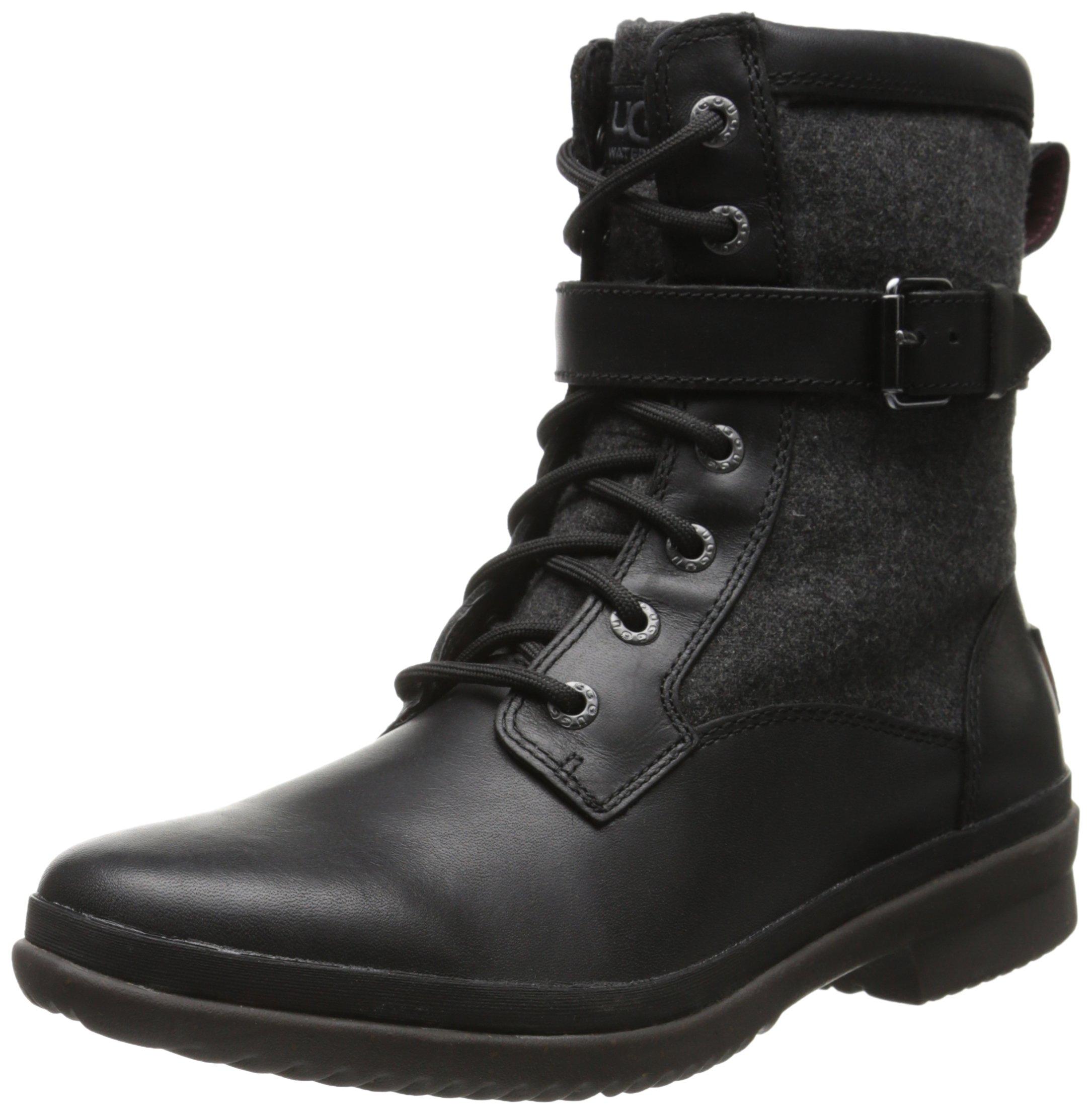 UGG Women's Kesey Boot, Black, 8 B US