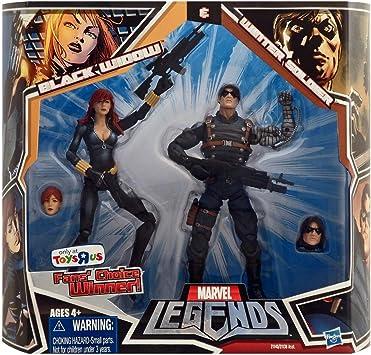 Marvel Legends Fans Choice TRU Exclusive Action Figure BLACK WIDOW ...