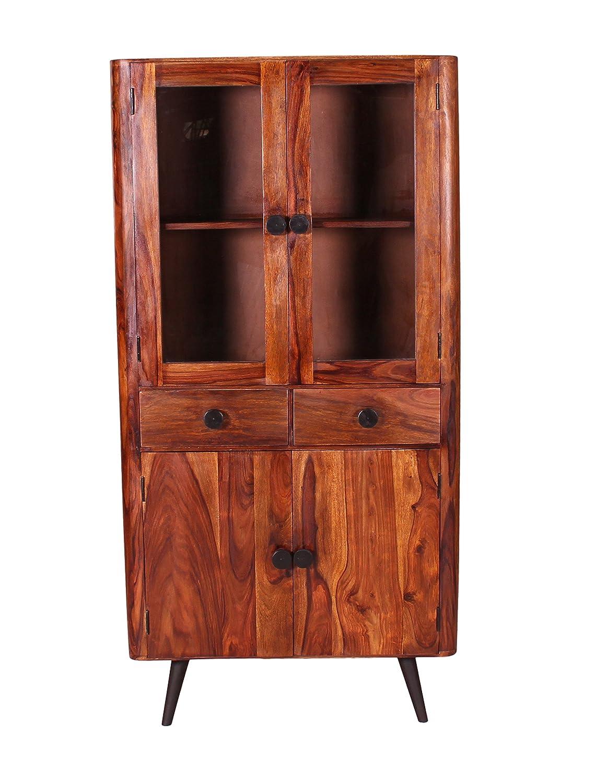 SIT-Möbel 8304-01 (KNOB) Schrank, Holz, natur, 40 x 90 x 190 cm