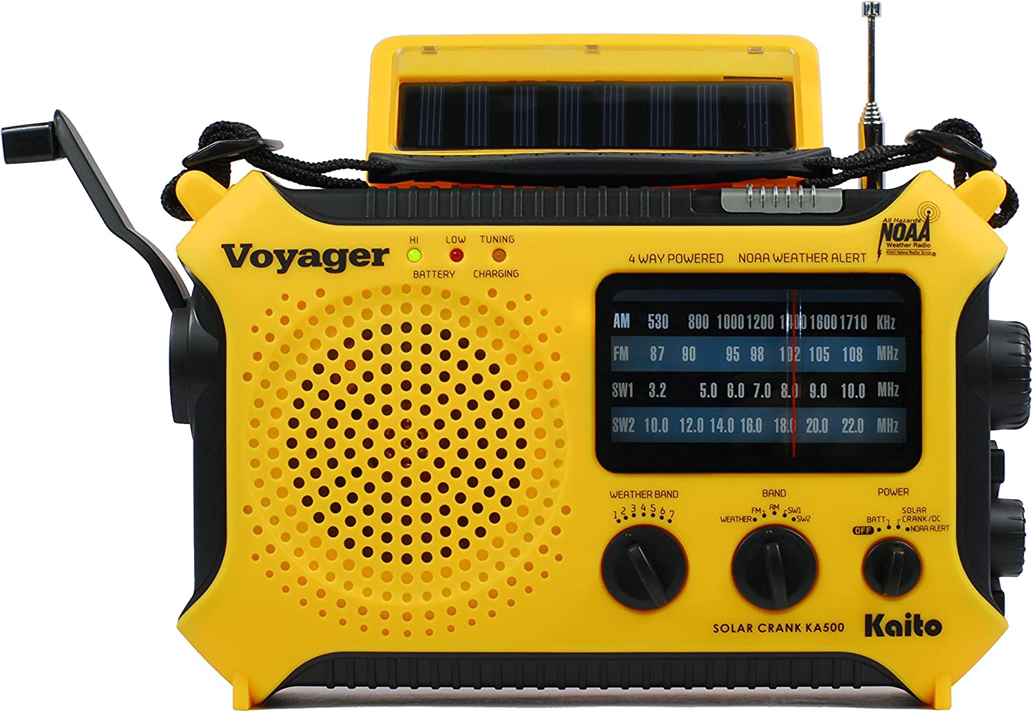 Emergency radio in Survival Kit