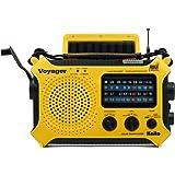 Kaito KA500 5-way Powered Solar Power,Dynamo Crank, Wind Up Emergency AM/FM/SW/NOAA Weather Alert Radio with Flashlight,Readi