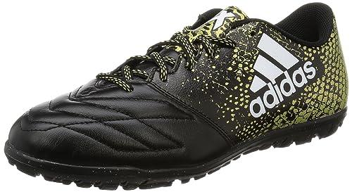 the best attitude 0ab6c 4b405 adidas X 16.3 Tf Leather, Scarpe da Calcio Uomo, Nero (Core Black