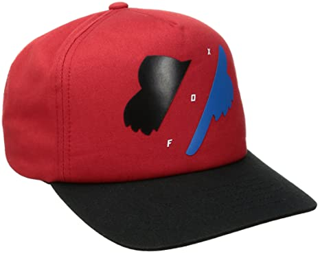 Amazon.com  Fox Men s Flat Bill Snapback Hat 5965af52b4e