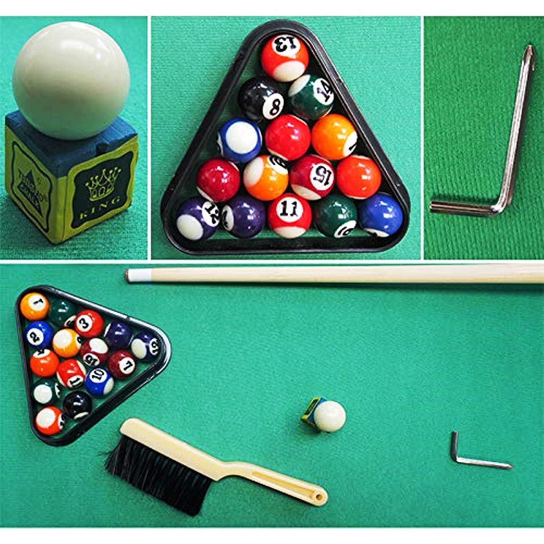Kemket Billard Junior Family Table Jeu de Sport pour Gar/çon Filles Snooker Table