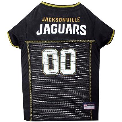 Hot Pets First NFL Jacksonville Jaguars Jersey, Large: Amazon.ca: Pet  supplier