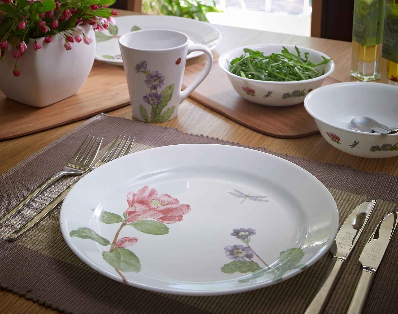 Amazon.com | Corelle Impressions 16-Piece Dinnerware Set Camellia Corelle Camilla Dinnerware Dinnerware Sets & Amazon.com | Corelle Impressions 16-Piece Dinnerware Set Camellia ...