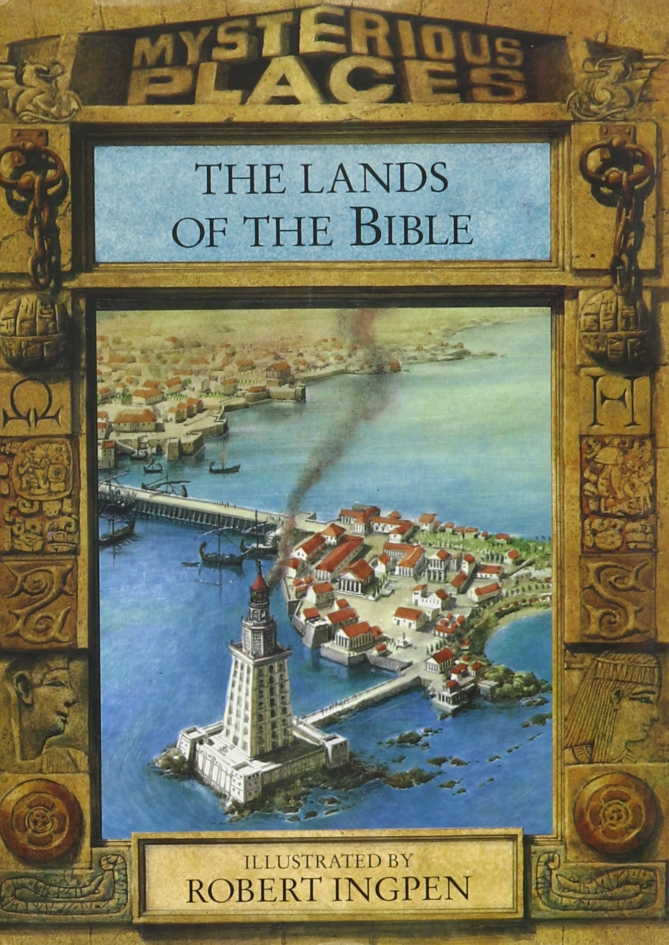 The Lands of the Bible (Mysterious Places) by Chelsea House Pub (Image #1)