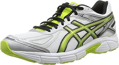 ASICS Patriot 7 - Zapatillas de running para hombre, color blanco / verde / negro / plata, talla 42: Amazon.es: Zapatos y complementos