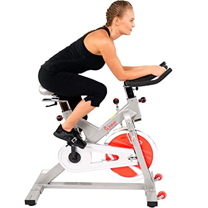 eb7d5952ce6 Amazon.com : Indoor Cycling Bike by Sunny Health & Fitness - SF ...