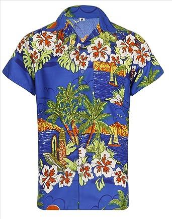 4de7ad9f Hawaiian Shirt Loud Mens Aloha Hawaii Holiday 60s 70s Island Barbados Beach  Stag Summer Palm Tree