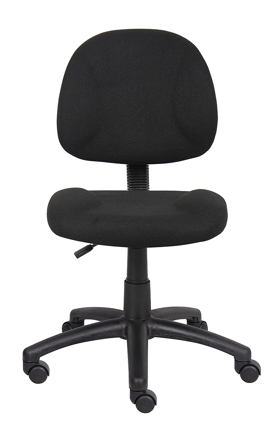 swivel leather pu itm study ebay executive office chairs computer cream chair desk padded