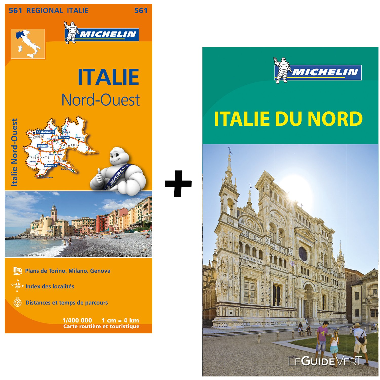 Carte Italie Nord Michelin.Amazon Fr Guide Vert Italie Nord Carte Routiere Italie
