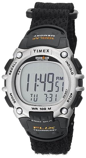 Timex De los hombres IRONMAN T5E261 100-Lap sistema de Flix - Reloj: Timex: Amazon.es: Relojes